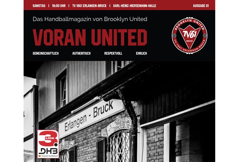 Brooklyn United Handballmagazin – Voran United // Ausgabe #01 2018