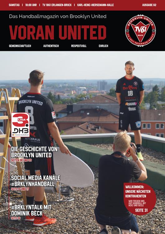 Brooklyn United Handballmagazin – Voran United // Ausgabe #02 2018