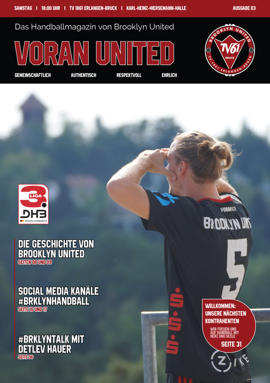 Brooklyn United Handballmagazin – Voran United // Ausgabe #03 2018