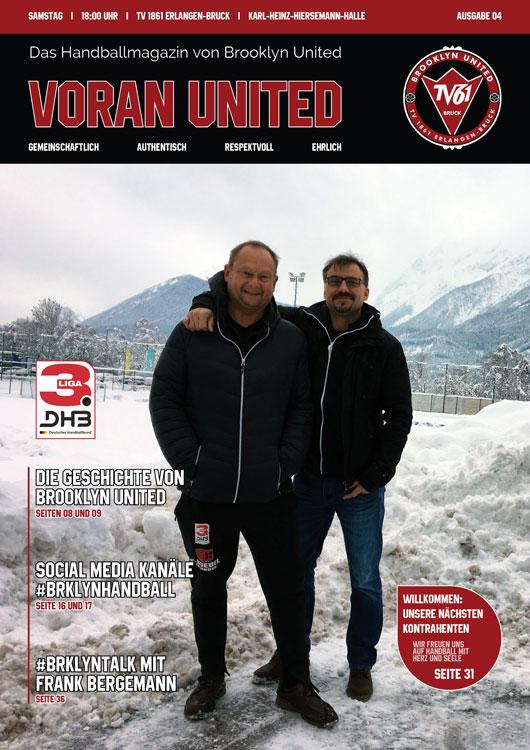Brooklyn United Handballmagazin – Voran United // Ausgabe #04 2019