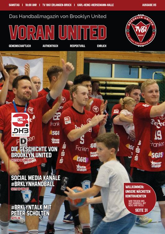 Brooklyn United Handballmagazin – Voran United // Ausgabe #05 2019