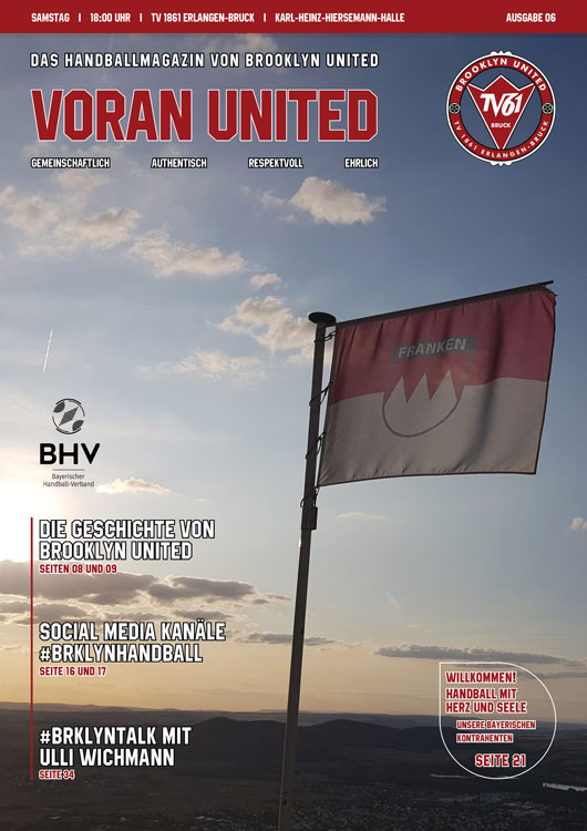 Brooklyn United Handballmagazin – Voran United // Ausgabe #06 2019