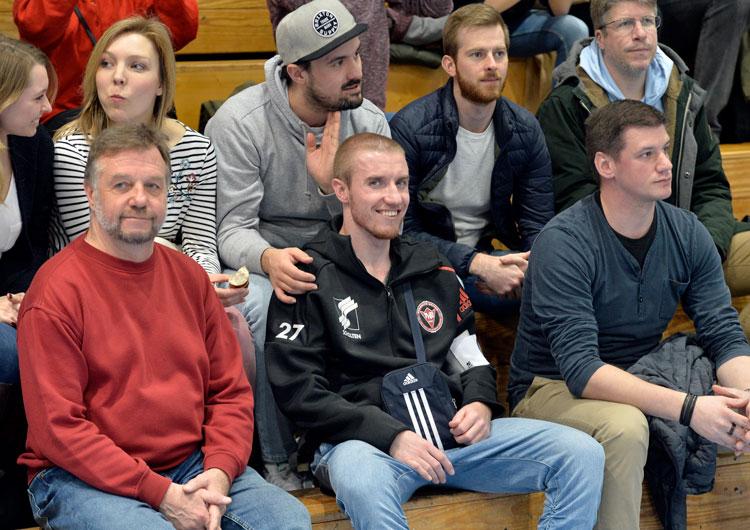 Brooklyn United Handball 2020 - Tobias Büttner mit Familie und Freunden