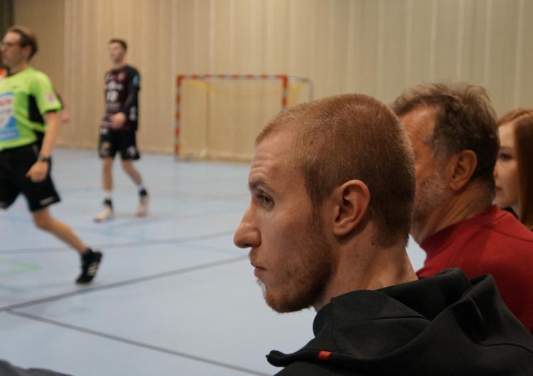 Brooklyn United Handball - Tobias Büttner in Erlangen bei uns.