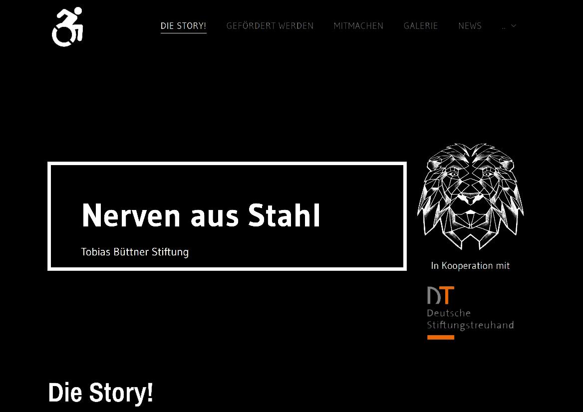 Brooklyn United Handball - Tobias Büttner Stiftung Nerven aus Stahl 2020