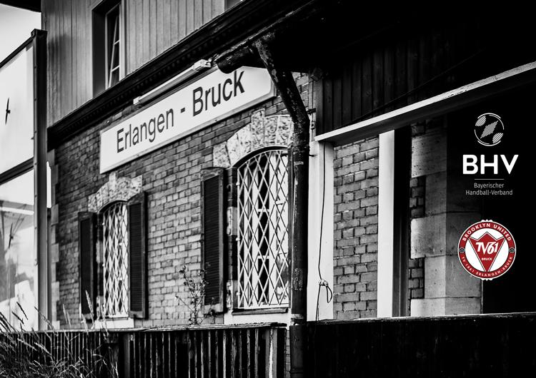 Brooklyn United Hanball - Bahnhof Erlangen-Bruck